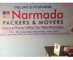 Narmada Packers and Movers Indore